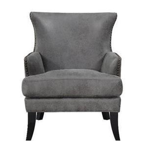 All Wood Furniture - U3536-05-05 Nola Accent Chair - Dixon Chocoalte