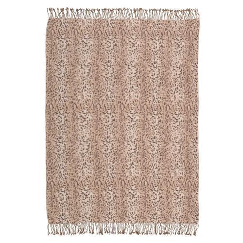 "Nourison Rugs - Throw Sz014 Beige 50"" X 70"" Throw Blanket"