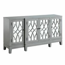ACME Magdi Console Table, Antique Gray Finish - AC00196