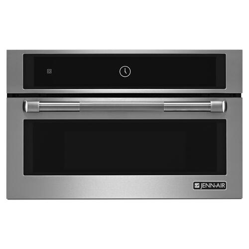 """JennAir - Pro-Style® 30"""" Built-In Microwave Oven with Speed-Cook Pro Style Stainless"""