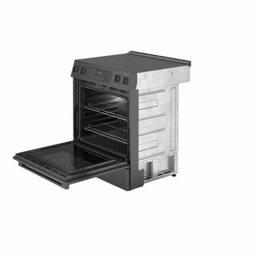 Bosch - 800 Series Electric Slide-in Range 30'' Black Stainless Steel HEI8046U