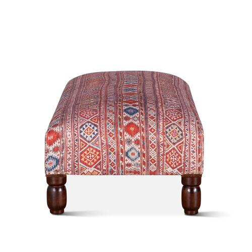 "Marrakech 48"" Mix Pattern Ottoman"