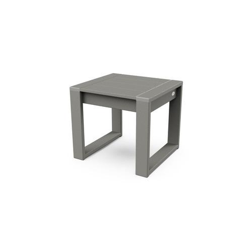 Slate Grey EDGE End Table