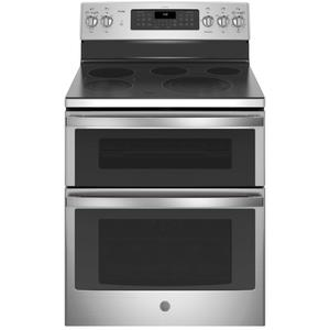 """GE Profile30"""" Free-Standing Double Oven Convection Range"""