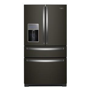 Whirlpool36-inch Wide 4-Door Refrigerator with Exterior Drawer - 26 cu. ft.