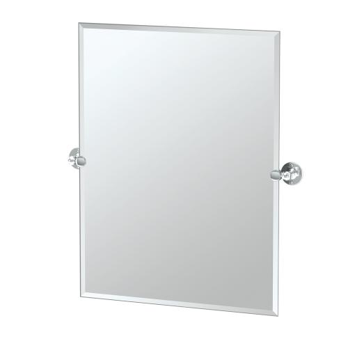 Cafe Rectangle Mirror in Bronze