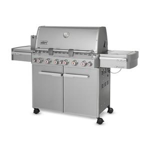 WeberSUMMIT® S-670™ NATURAL GAS GRILL - STAINLESS STEEL