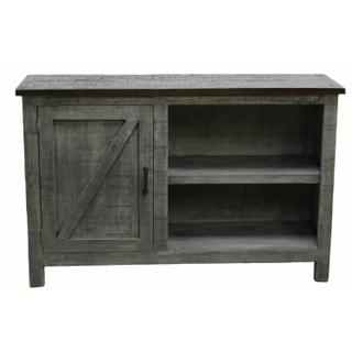 """See Details - 52"""" Charcoal Gray/brown TV"""