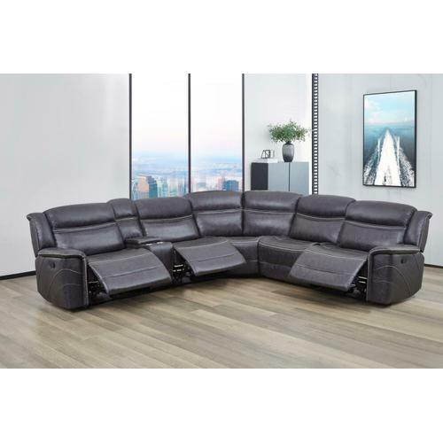 Coaster - 6 PC Motion Sectional