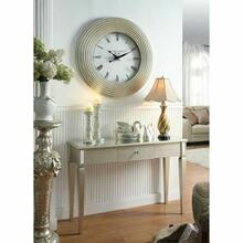 ACME Shannon Wall Clock - 97230 - Silver PU