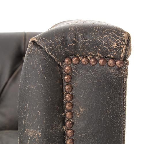 Destroyed Black Cover Maxx Sofa