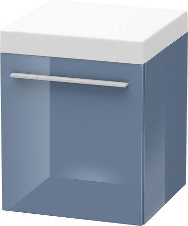 Mobile Storage Unit, Stone Blue High Gloss (lacquer)