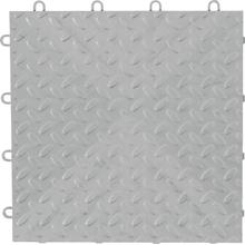 """View Product - 12"""" x 12"""" Tile Flooring (48-Pack) Silver"""