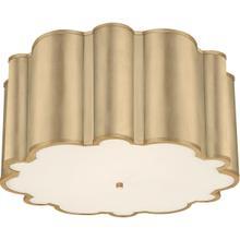 Alexa Hampton Markos 4 Light 26 inch Gild Flush Mount Ceiling Light, Grande