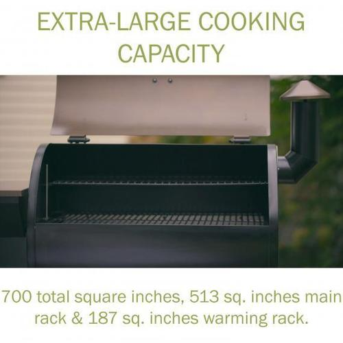 Deluxe Wood Pellet Grill and Smoker