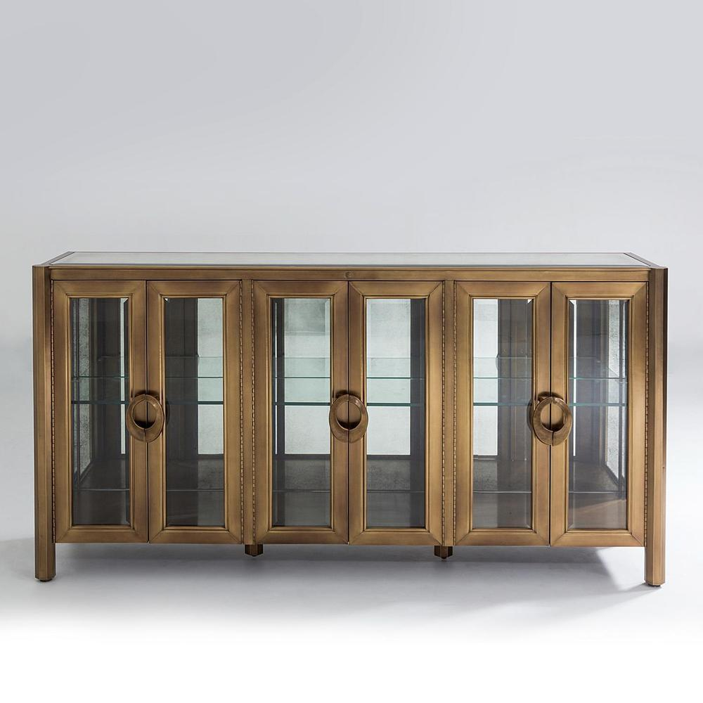 See Details - Apothecary Console Cabinet