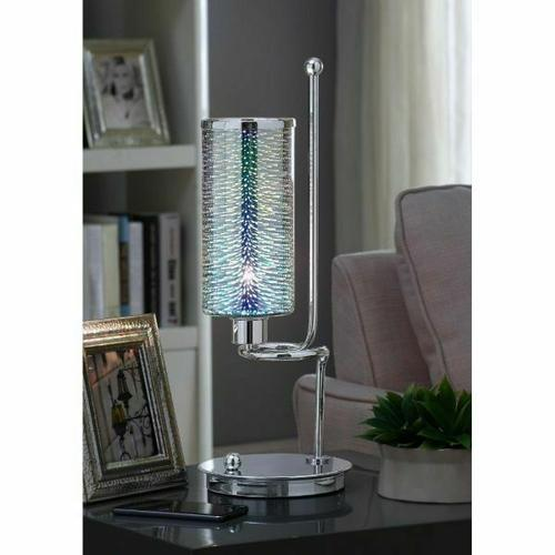 ACME Gwen Table Lamp - 40131 - Chrome