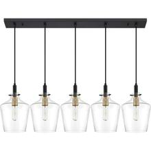 View Product - June Island Chandelier in Earth Black