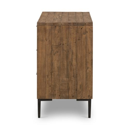 Rustic Sandalwood Finish Wyeth 6 Drawer Dresser