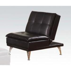 Acme Furniture Inc - Black Pu Adjustable Chair