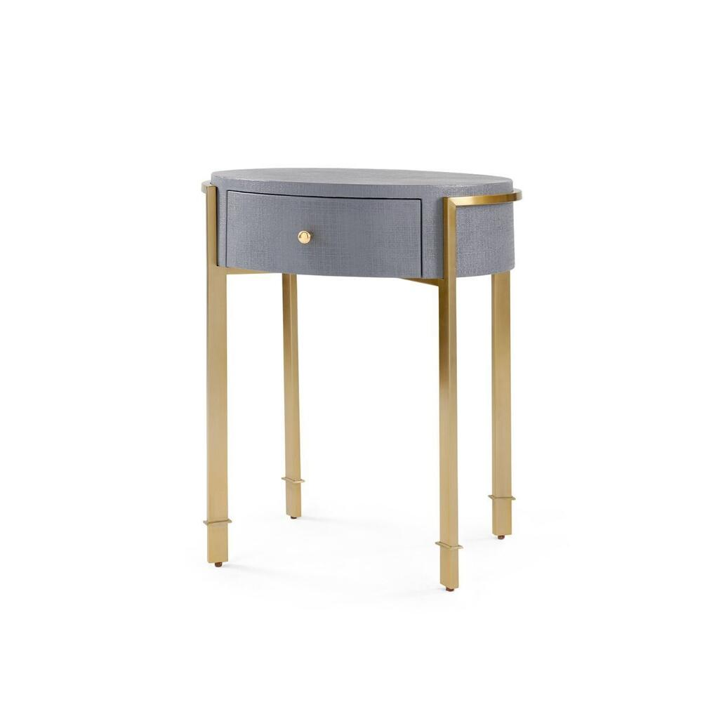 Bodrum Side Table, Gray