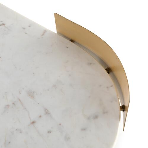 Juliet Desk-white Marble