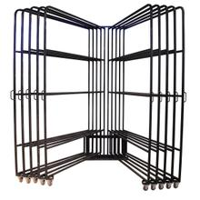 View Product - Ten Arm 5x8 Panel Rack w/80 Clips
