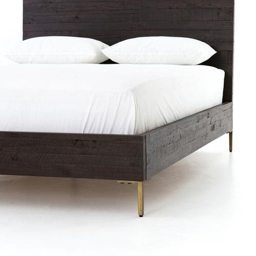 Wyeth Bed-dark Carbon-queen