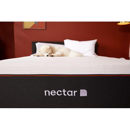 Copper - Copper Luxury Firm Non-Quilted Smooth Top California King Memory Foam Mattress
