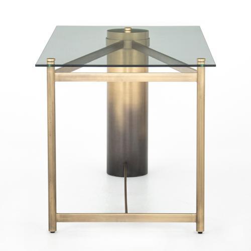 Four Hands - Gaye Desk-ombre Antique Brass Iron