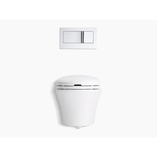 Biscuit Nightlight Elongated Bidet Toilet Seat