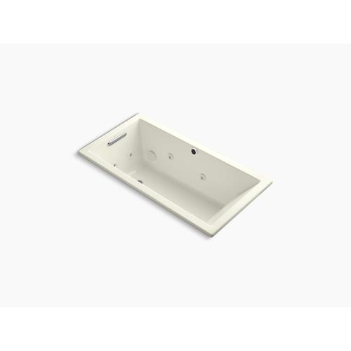 """Biscuit 60"""" X 30"""" Heated Whirlpool Bath With Reversible Drain"""