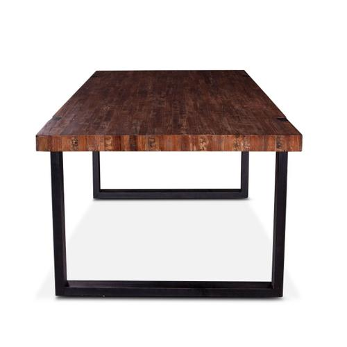 """Bosque 84"""" Dining Table Aged Teak"""