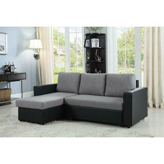 See Details - Baylor Casual Grey Sofa