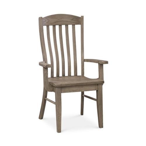 Bassett Furniture - Holden Oak Arm Chair