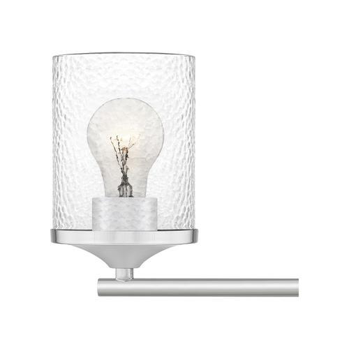 Quoizel - Abner Bath Light in Polished Chrome