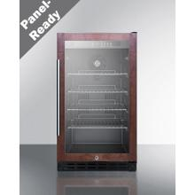 """View Product - 18"""" Wide Built-in Beverage Center, ADA Compliant (panel Not Included)"""