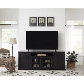82 Inch Console - Vintage Black Finish