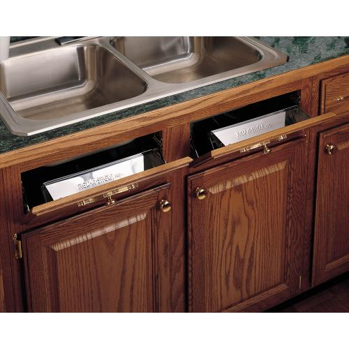 """Rev-A-Shelf - 6581-16-52 - 16"""" Stainless Sink Front Tray"""