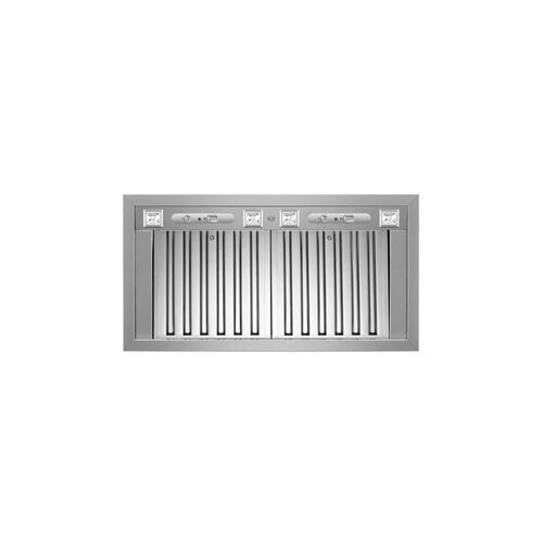 Gallery - 36 Insert Hood, 2 motors 1000 CFM Stainless Steel