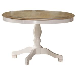 Hillsdale Furniture - Bayberry / Embassy Round Dining Table - White