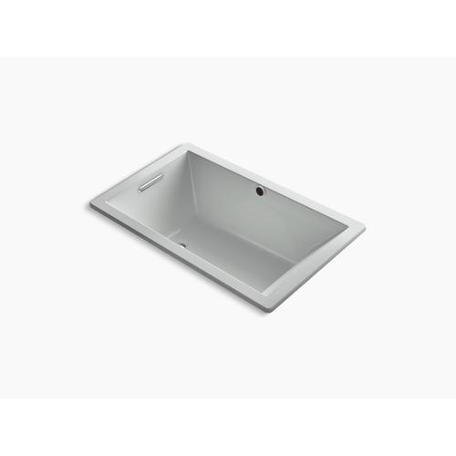 "Ice Grey 60"" X 36"" Drop-in Vibracoustic Bath With Bask Heated Surface"