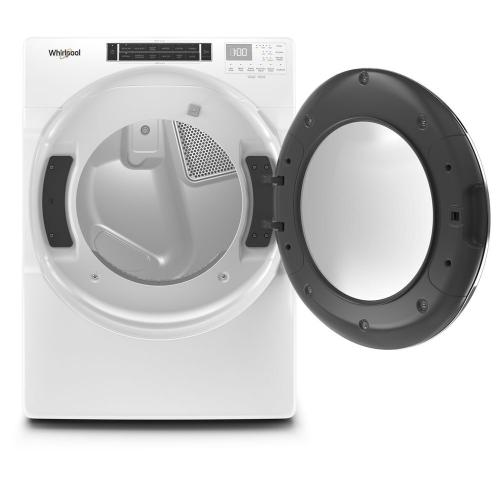 Whirlpool - 7.4 cu. ft. Front Load Gas Dryer with Steam Cycles