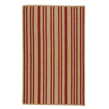 "LM-Red Stripe Scarlet - Vertical Stripe Rectangle - 20"" x 30"""