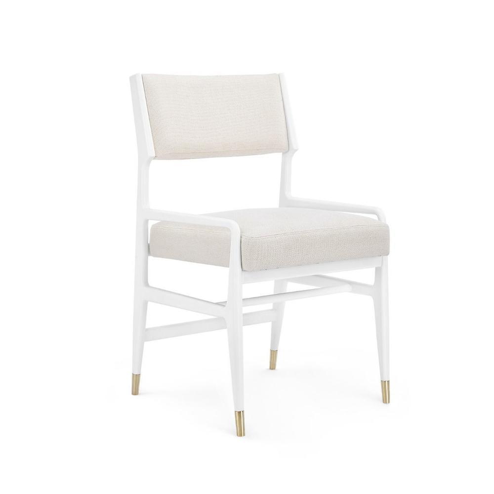 Tamara Arm Chair, White