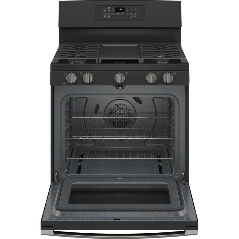 """GE® 30"""" Free-Standing Gas Convection Range with No Preheat Air Fry"""