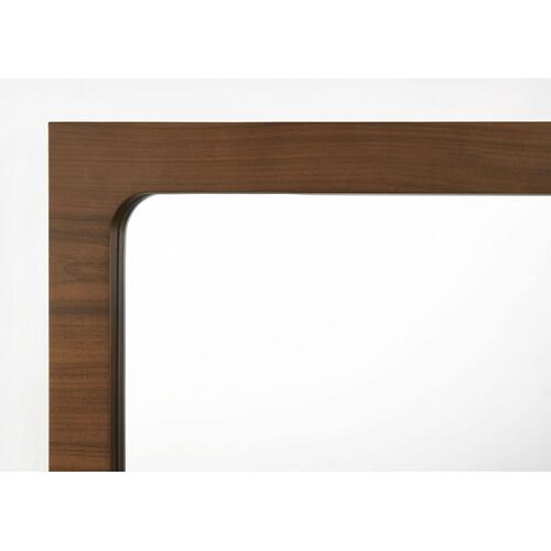 VIG Furniture - Modrest Dustin - Modern Walnut Mirror
