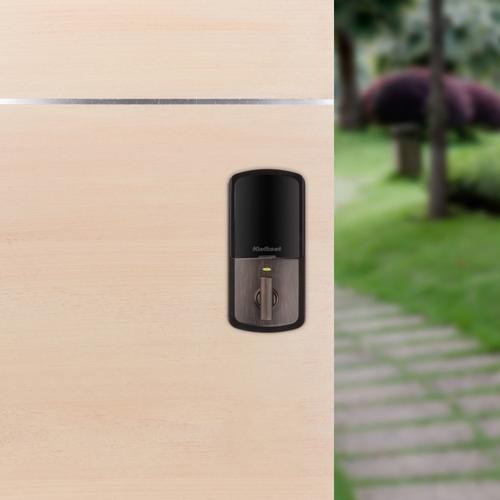 Kwikset - Halo Keypad Wi-Fi Enabled Smart Lock - Venetian Bronze
