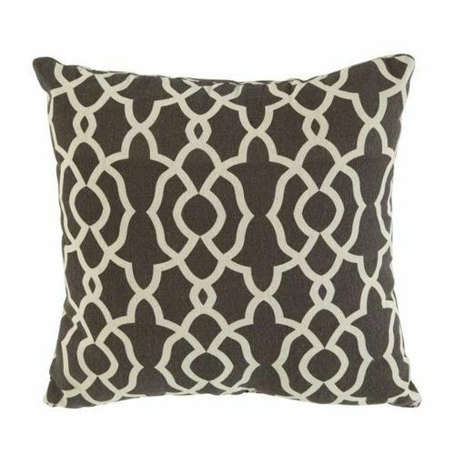 ACME Laurissa Sectional Sofa & Ottoman (2 Pillows) - 54395 - Light Teal Linen