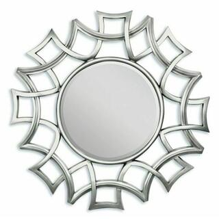 ACME Esme Accent Mirror (Wall) - 97055 - Silver